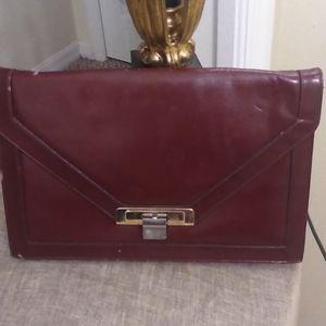 Lou Taylor Vintage Italian Leather Handbag